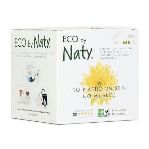 assorbenti ecologici normal naty