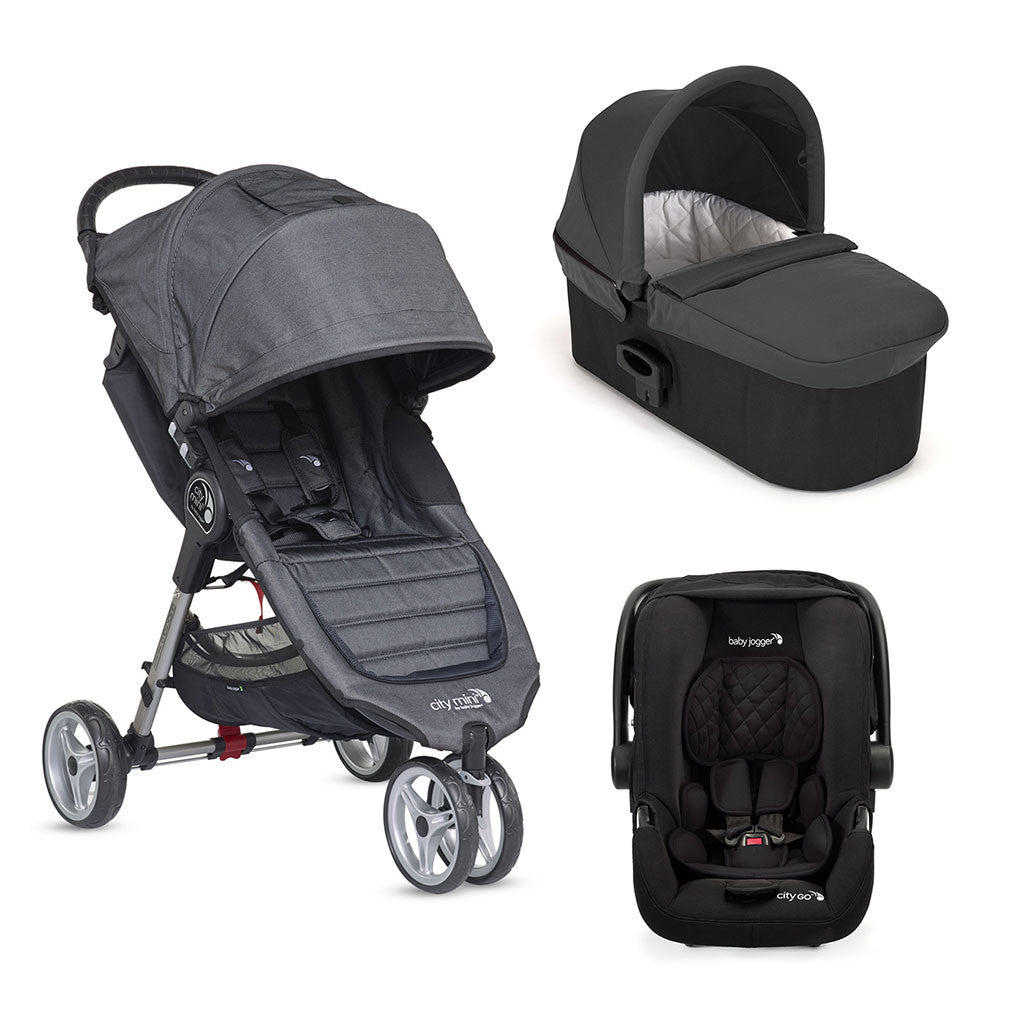 Travel System Trio City Mini 3 Deluxe - Charcoal
