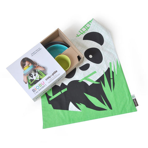 Limited Edition - Biobu - Set Pappa - Panda