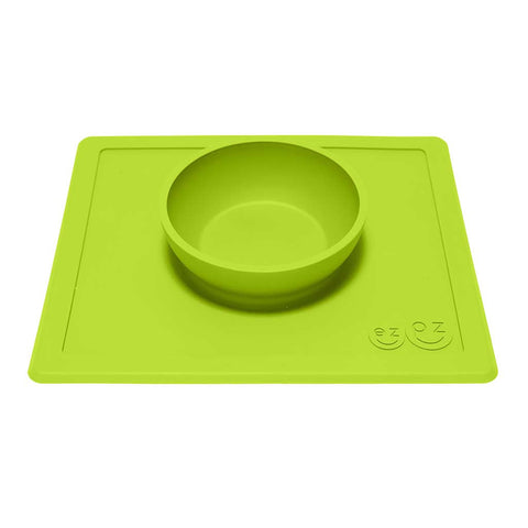 Happy Bowl - Ciotola in silicone - Verde