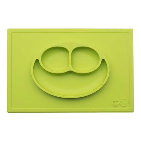 Happy Mat - Piatto in silicone - Verde