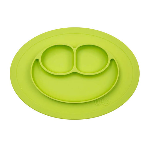 Mini Mat - Piatto in silicone - Verde