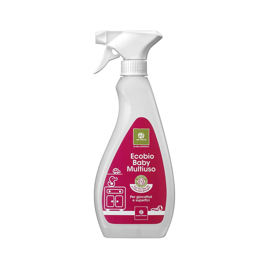 Detergente Ecobio Baby Multiuso Spray Ecologico 500 ml