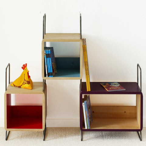 Bookcase Salamandre Ted