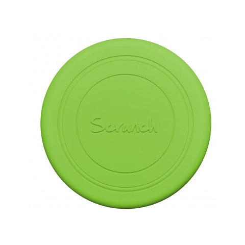 Frisbee arrotolabile in silicone - Verde