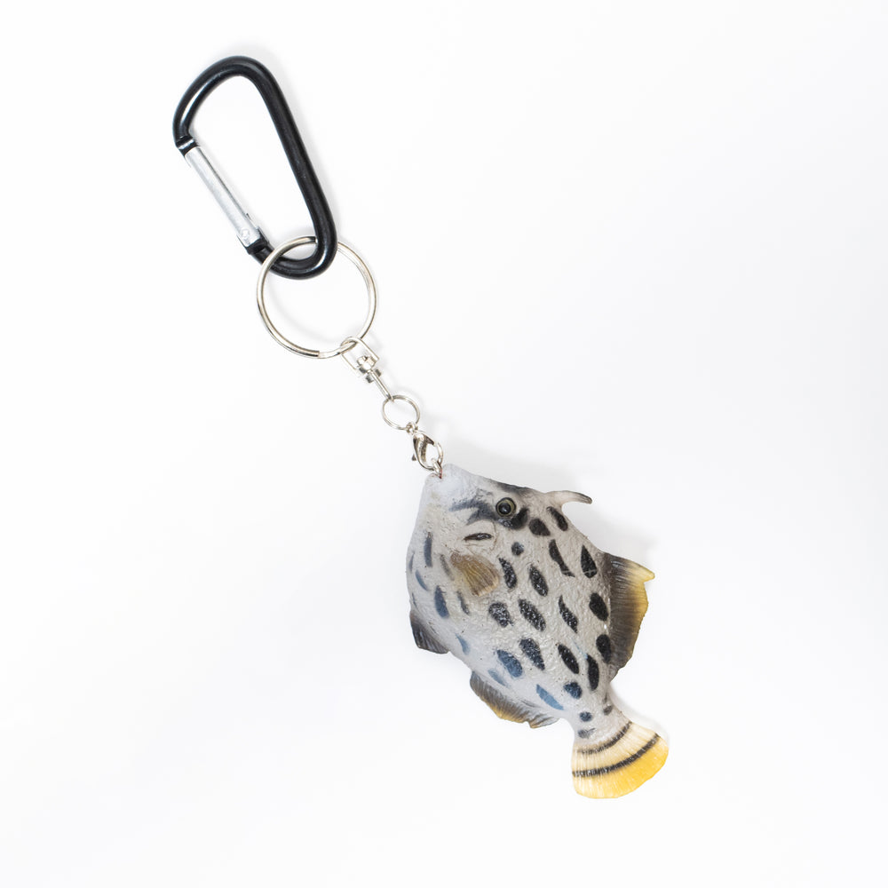 Load image into Gallery viewer, Threadsail Filefish Key Ring