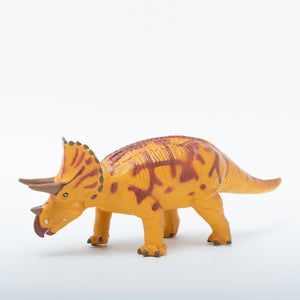 Load image into Gallery viewer, Triceratops Vinyl Model Brown