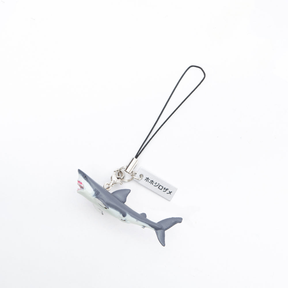 Real Figure Strap Great white shark