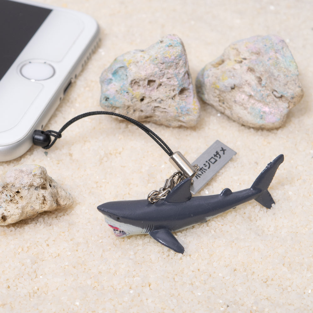 Load image into Gallery viewer, Real Figure Strap Great white shark