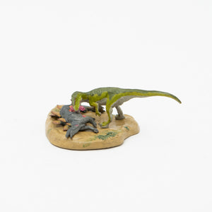 Load image into Gallery viewer, Allosaurus vs Stegosaurus Mini Model