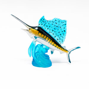 Load image into Gallery viewer, Indo-Pacific Sailfish Mini Model