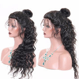 Puddinghair Brazilian Full Lace Wig Loose Wave Hair 100% Human Hair Density 150%