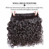 Puddinghair 8A Brazilian Water Wave Hair Weaves 3 pcs/lot Peruvian Hair Extensions