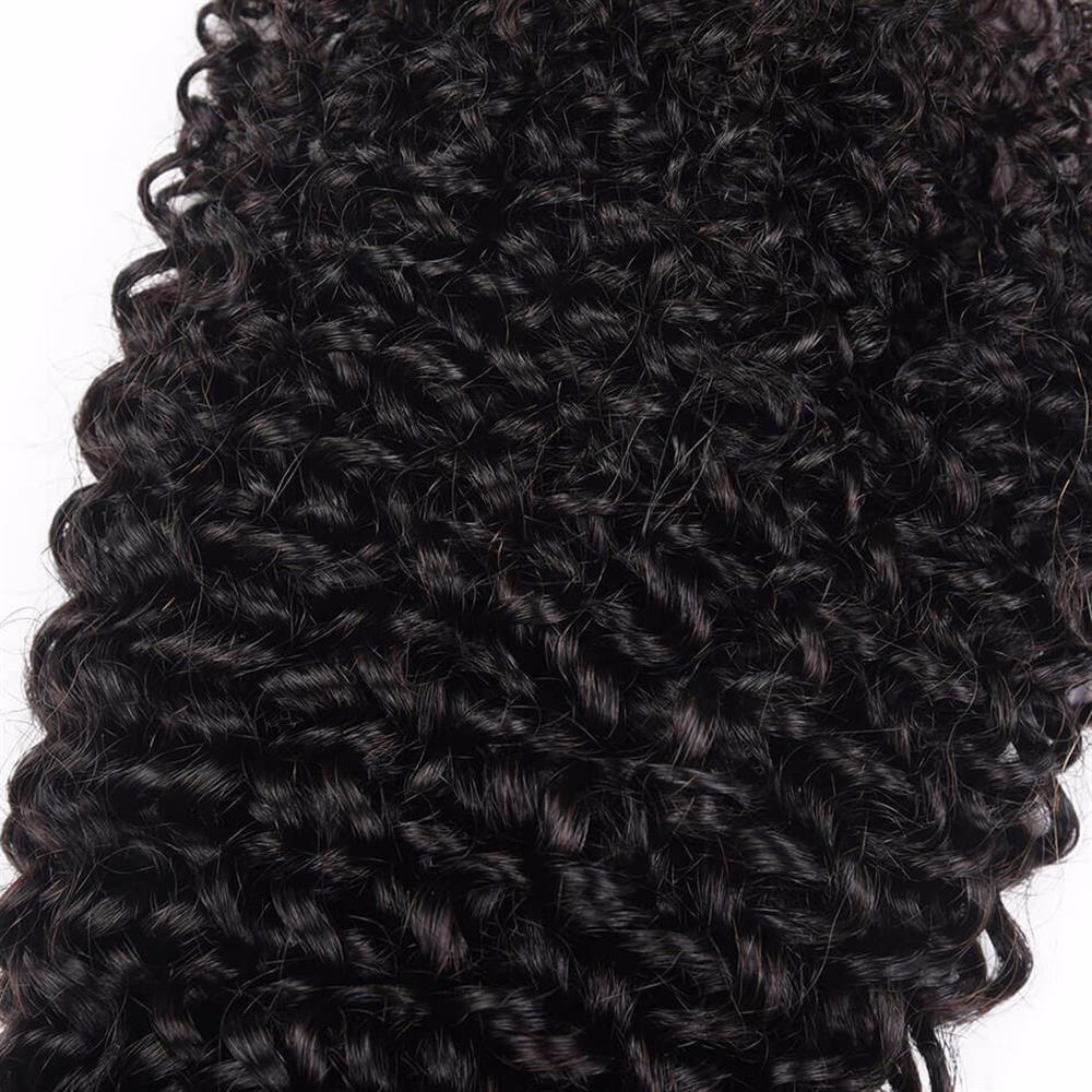 Lakihair 10A Top Quality Kinky Curly 1 Bundle Deal Brazilian Virgin Human Hair Extensions
