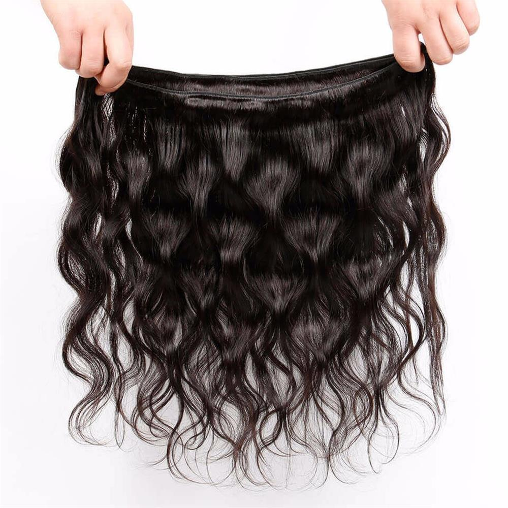 Lakihair 10A Top Quality 1 Bundles Brazilian Body Wave Virgin Human Hair Extensions