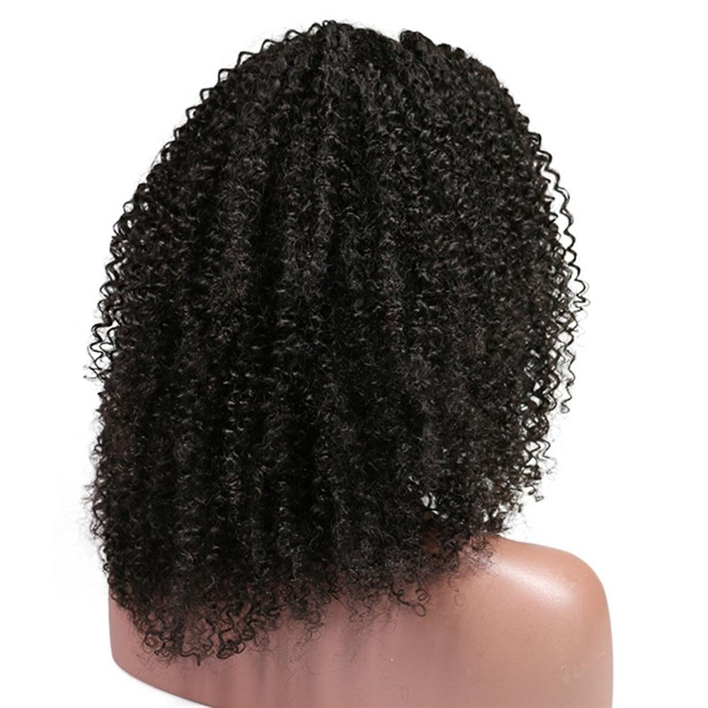 Puddinghair Brazilian Kinky Curly Wig Human Hair Lace Front Wig For Black Women