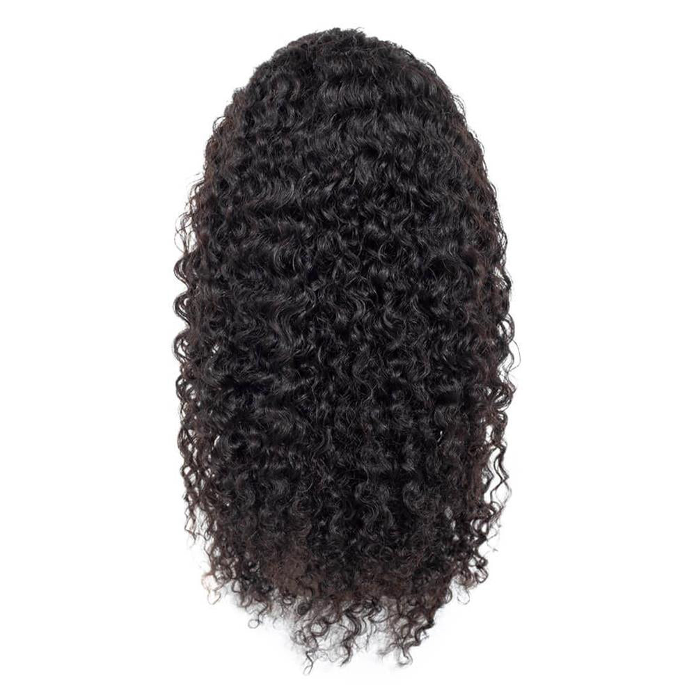 Puddinghair Brazilian Water Wave Lace Front Wig 100% Human Hair Natural Wavy Lace Wigs