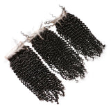 Puddinghair 8A Brazilian Jerry Curly Human Hair 4X4 Lace Closure