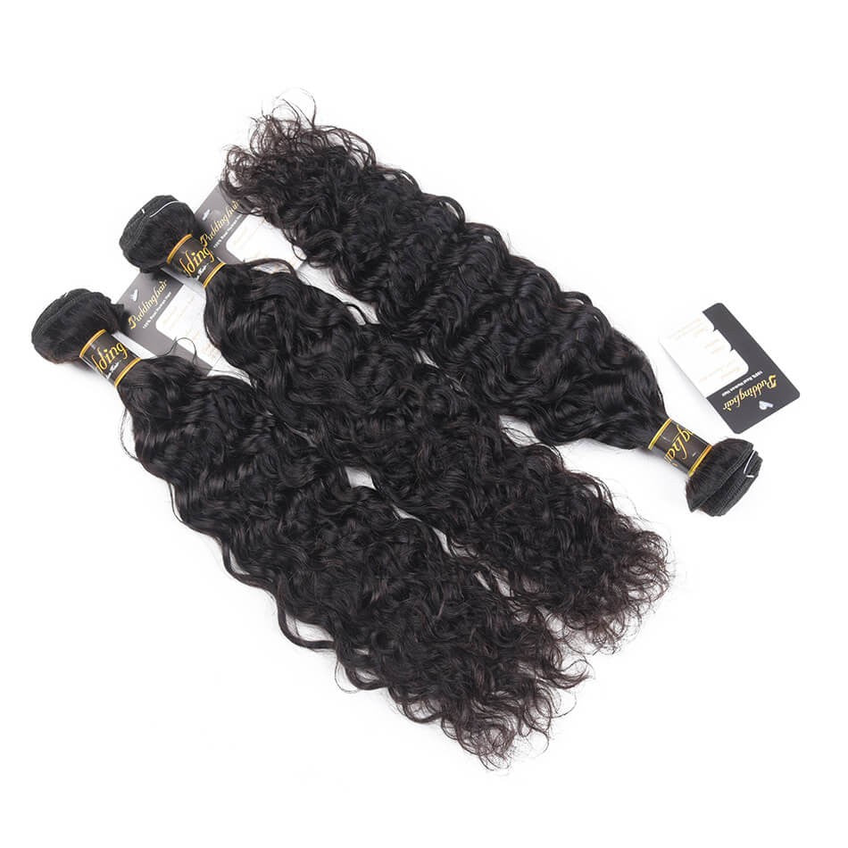 Puddinghair 8A Brazilian Natural Wave Hair Weaves 3 pcs/lot Peruvian Hair Extensions