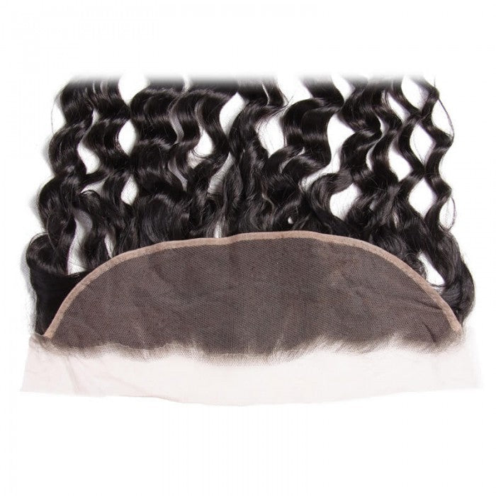 Puddinghair 8A Brazilian Natural Wave Hair 13x4 Lace Frontal Hair Closure