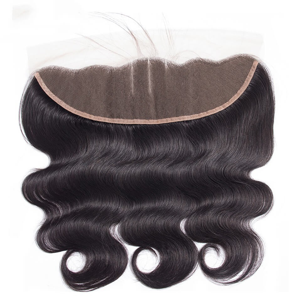 Puddinghair 8A Brazilian Body Wave 13x4 Lace Frontal Hair Closure