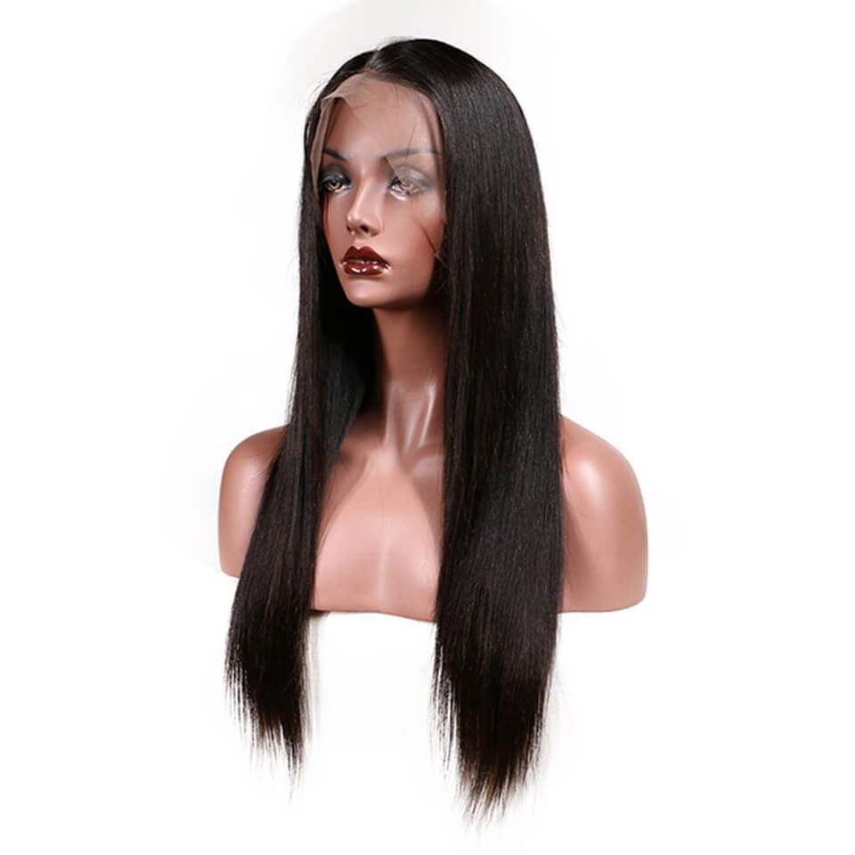 Puddinghair 100% Straight Virgin Human Hair Lace Front Wigs