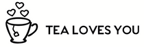 Tea loves you , logo , tea , matcha , black tea , blends , green tea , organic tea
