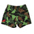 KIDS STRETCHY TRUNKS from Recycled Plastic Bottles, CAMMOFLOCK, back, by South Beach Boardies,
