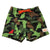 Kids Stretchy Swimming Trunks in Cammoflock, by South Beach Boardies, made from recycled plastic bottles, front view