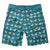 Mens Surfer Boardies from Recycled Plastic Bottles, Seagulls, back, by South Beach Boardies, ws