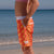 SBB Kids Going Out Boardies recycled Orange Crush girl side view