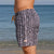 South Beach Boardies Mens Retro Trunks recycled Tribal side view