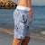 SBB Mens Surfer Boardies in Sea Punk, made from recycled plastic bottles. Side View