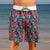 Board Shorts Mens Surfer Boardies recycled Sweet Pineapples front view