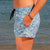 SBB Womens Summer Shorts Boardies recycled Quechua side pocket view