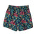 Kids Retro Trunks in Sweet Pineapples. Made from recycled plastic bottles, from South Beach Boardies. Back