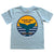 South Beach Boardies Clean Seas Please Dolphin Tail T-shirt, front