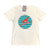 South Beach Boardies men's recycled  tshirt dingo white front