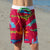South Beach Boadies from recycled plastic. Kids Long Boardies in Plesiosaurs, front view