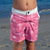South Beach Boardies Kids Going Out Boardies recycled plastic I Love Dragonflies front view