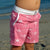 South Beach Boardies Kids Going Out Boardies recycled plastic I Love Dragonflies sidefront