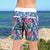 South Beach Boardies Kids Going Out Boardies recycled plastic Sweet Pineapples back view