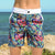 South Beach Boardies Kids Going Out Boardies recycled plastic Sweet Pineapples front view