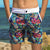 South Beach Boardies Kids Going Out Boardies recycled plastic Sweet Pineapples front pocket view