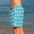 South Beach Boardies Mens Retro Trunks from Recycled Plastic Bottles, The Pelican Briefs, rightside