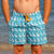 South Beach Boardies Mens Retro Trunks from Recycled Plastic Bottles, The Pelican Briefs, pockets