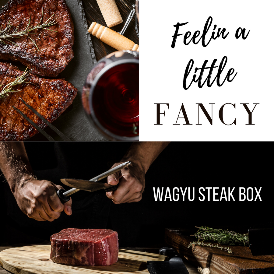 Dry Aged Wagyu Beef Steak Subscription Box