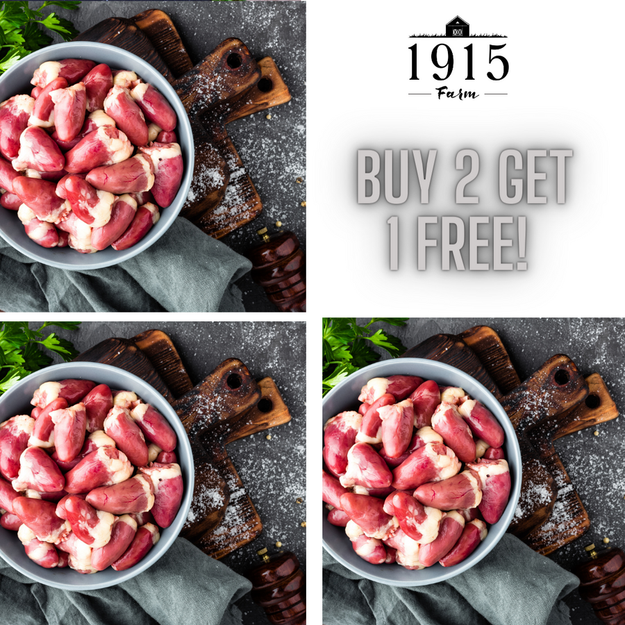 Chicken Hearts - buy 2 get 1 FREE