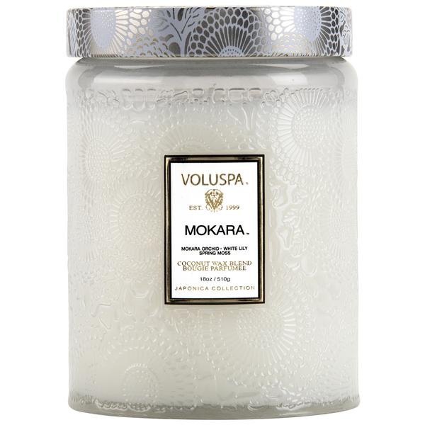 Mokara Glass Jar Candle