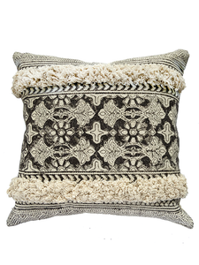 Grey & Ivory Pillow